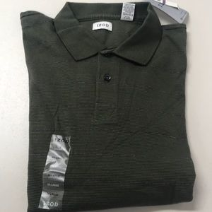 Izod Long sleeve button Men's pullover